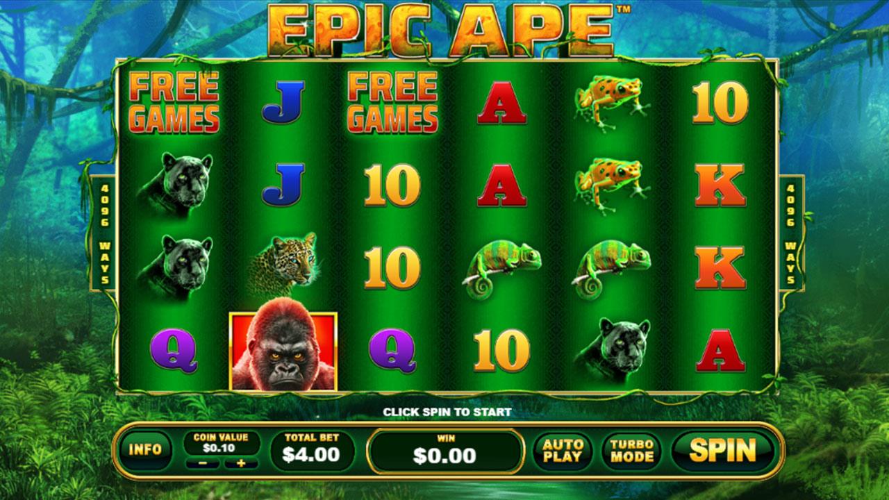 Epic Ape screenshot